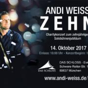 Andi Weiss - ZEHNjähriges Solobühnenjubiläum (14.10.2017)